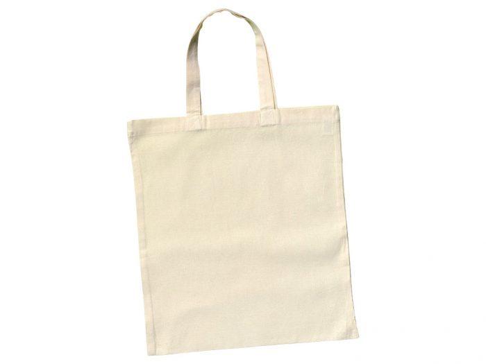Cotton shopping bag Ideen 38x42cm short handles - 1/6