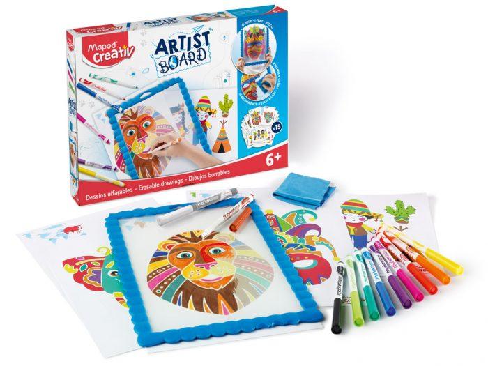 Zīmēšanas komplekts ar tāfeli Maped Creativ Artist Board - 1/2