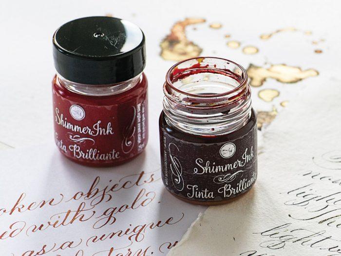 Kaligrāfijas tinte Manuscript ShimmerInk 25ml - 1/5