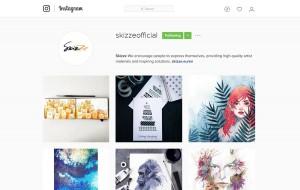 Skizze Instagram